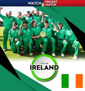 IRELAND Cricket Team 279x300, Live Cricket Streaming
