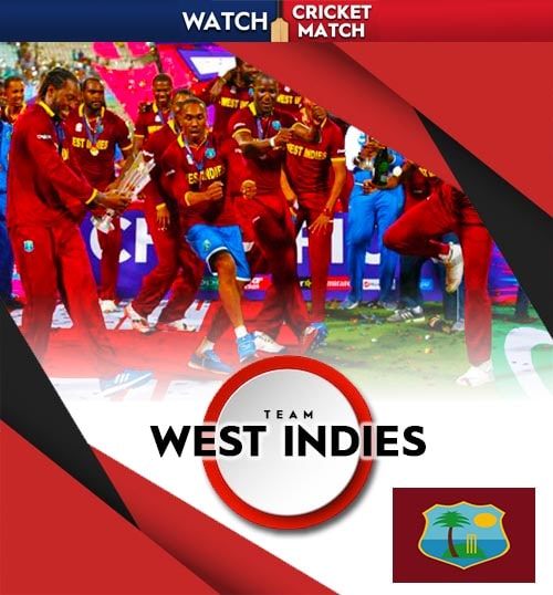 West Indies cricket team poster png banner