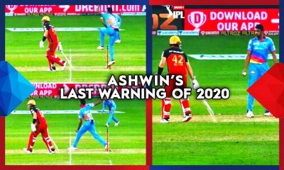 Ashwin Mankad Warning IPL2020