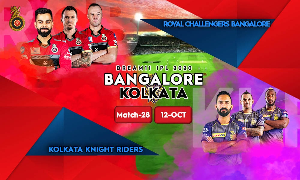 MATCH 28 Royal Challengers Bangalore Vs Kolkata Knight Riders RCB Vs KKR Min, Live Cricket Streaming