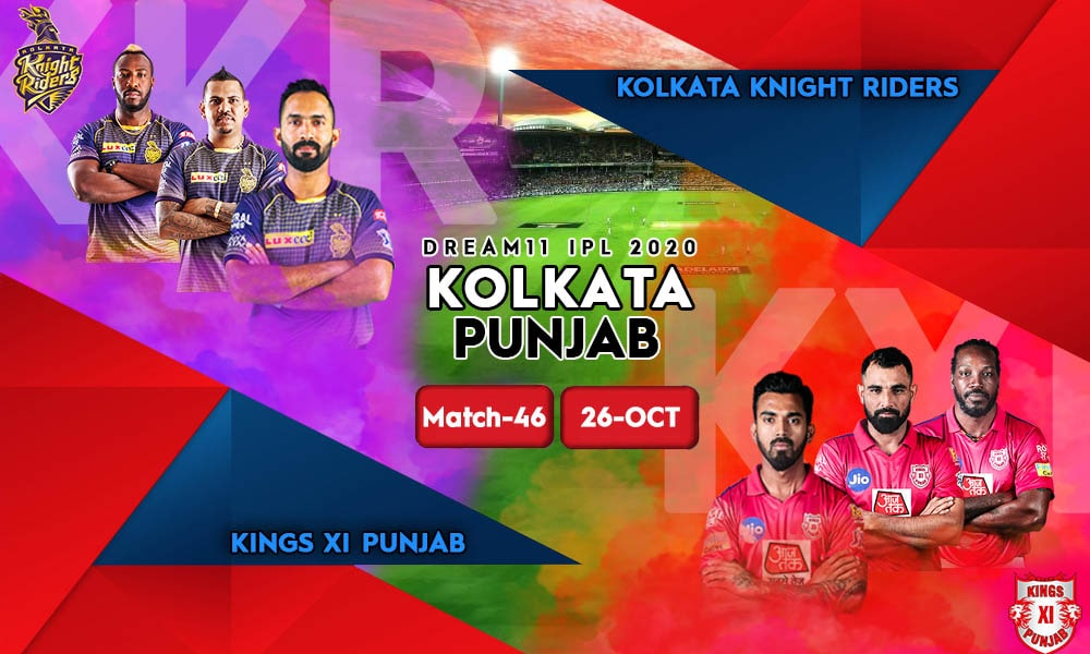 MATCH-46 Kings XI Punjab vs Kolkata Knight Riders KXIP vs KKR