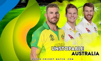 AUSTRALIA WINS THE FIRST ODI SMITH AARON FINCH AND WARNER