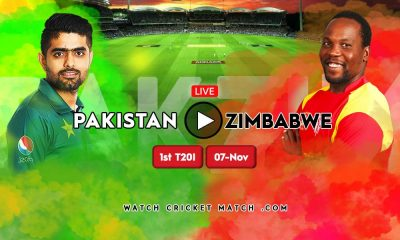 PAK vs ZIM 1st T20I Live Stream Series 2020