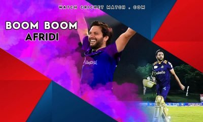 Shahid Afridi Scores big in LPL 2020 Galle Gladiators
