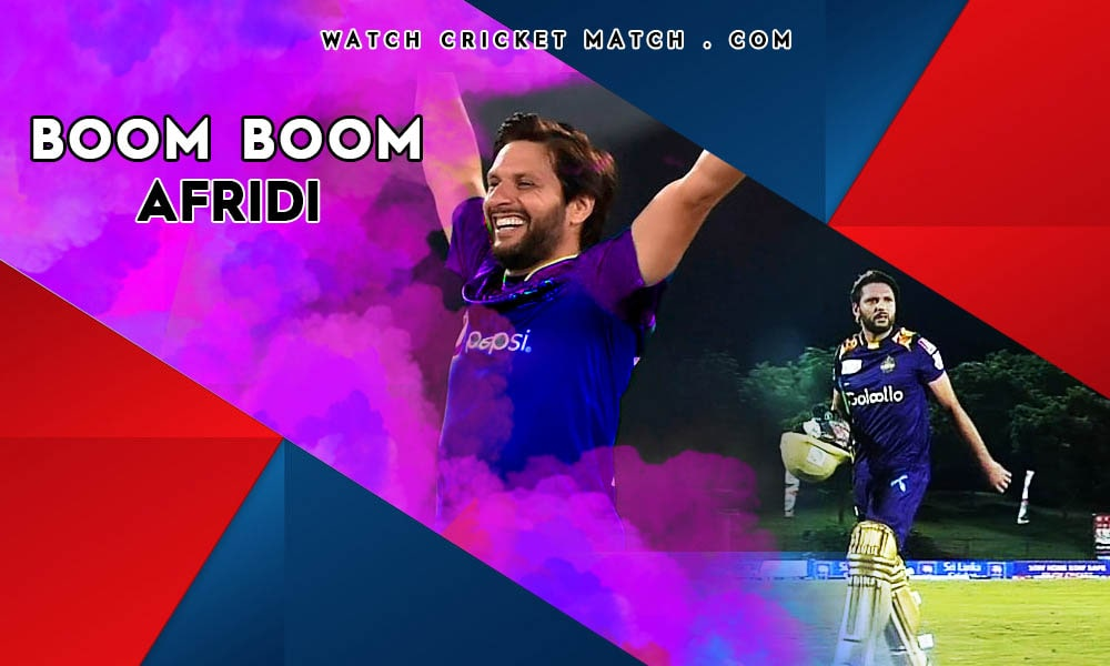 Shahid Afridi Scores Big In LPL, Live Cricket Streaming