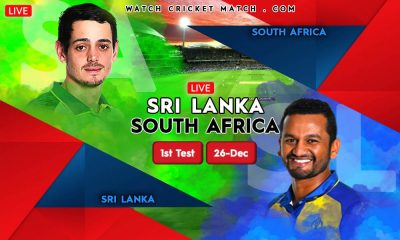 SRI LANKA Vs SOUTH AFRICA SA Vs SL 1st Test Match WatchCricketMatch