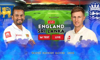 ENGLAND Vs SRI LANKA First Test LIVE WatchCricketMatch