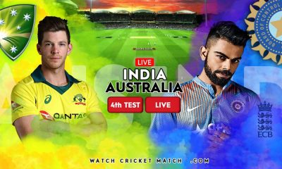INDIA Vs AUSTRALIA IND Vs AUS 4th Test Match LIVE WatchCricketMatch.com