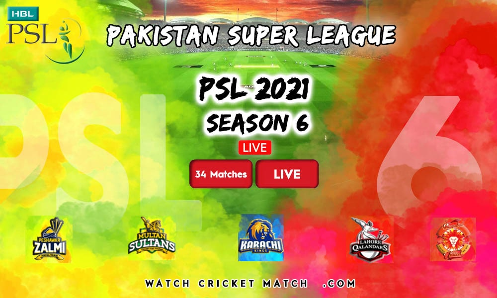 PSL Banner Pakistan Super League, Live Cricket Streaming