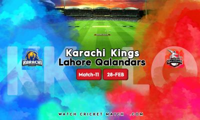 KK Vs LQ Karachi Kings Vs Lahore Qalandar Match 11 PSL2021