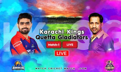 KK Vs QG Karachi Kings Vs Quetta Gladiators Match 1