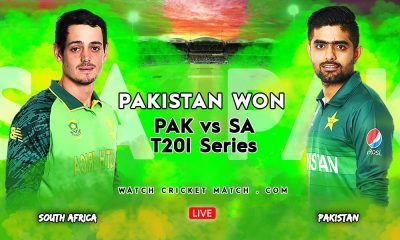 PAK Vs SA Won 3rd T20I And The T20 Series 2021