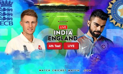 INDIA Vs ENGLAND IND Vs ENG 4th Test Match