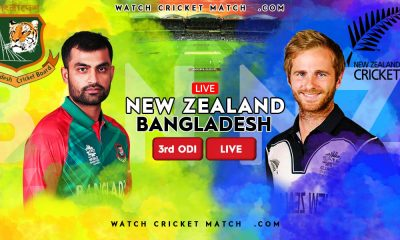NEW ZEALAND Vs BANGLADESH NZ Vs BAN 3rd ODI Match