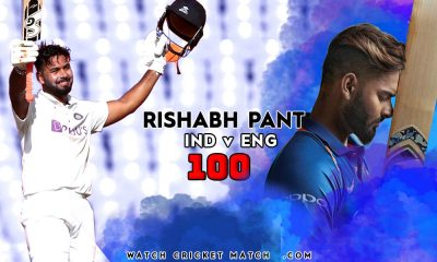 RISHABH PANT 100 Runs IND Vs ENG 400x240, Live Cricket Streaming