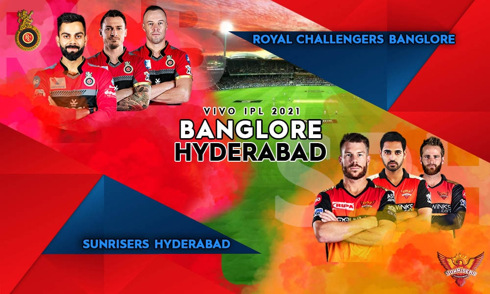 Sunrisers Hyderabad Vs Royal Challengers Bangalore SRH V RCB, Live Cricket Streaming